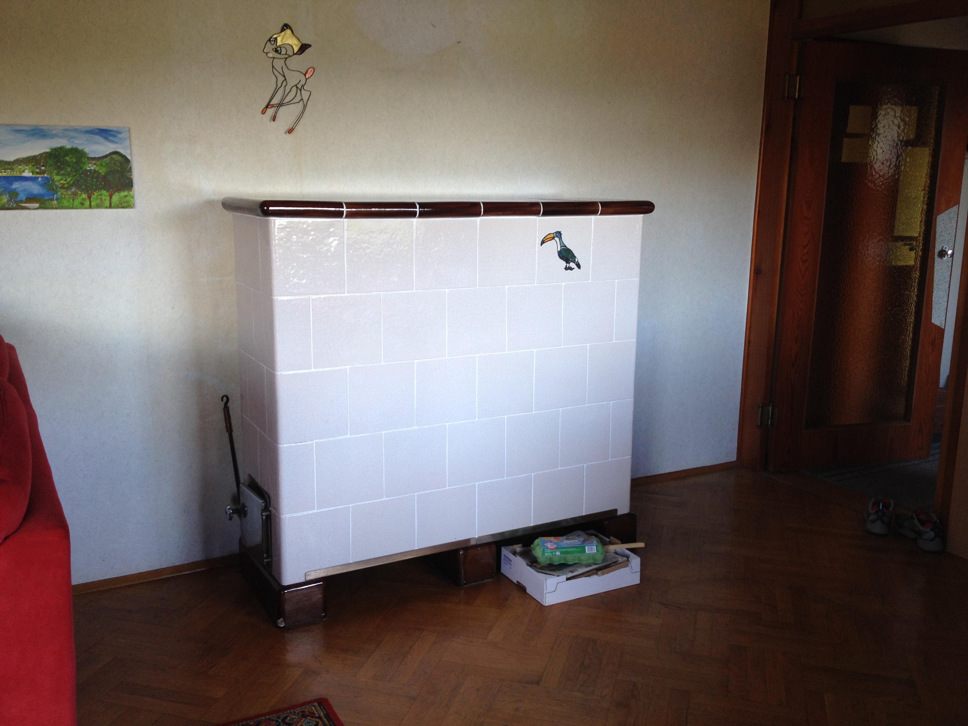 Sanierung alter Ofen